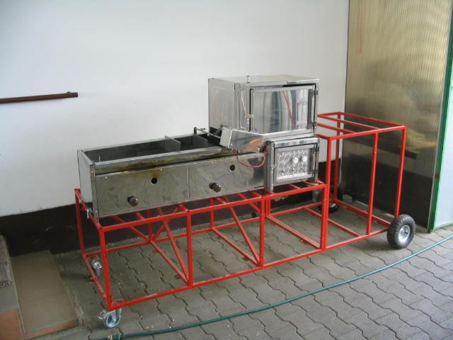stroj aparat za fritule