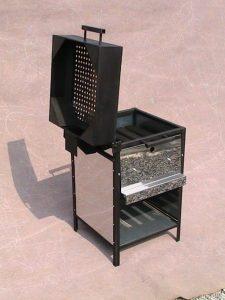 stroj za pečenje kestena plinski