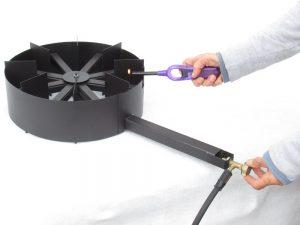 Tek sada pustite plin u plamenik , sada ste sigurni da neće doći do nakupljanja nesagorjelog plina i mini eksplozije