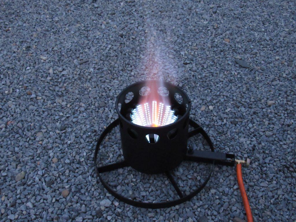 plinski plamenik za wok i tave